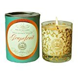Kew Gardens / Canova Scented Soy Wax Candle in Glass & Boxed- Grapefruit (fresh)