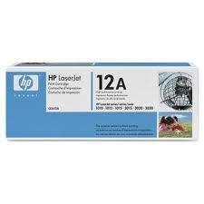 HP Toner Q2612A 12A schwarz