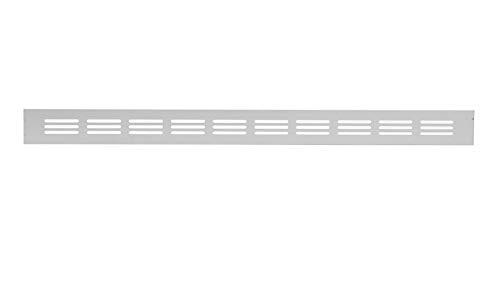 Aluminium Lüftungsgitter Silber 40x300mm Stegblech Lüftung Alu-Gitter Gitter Möbelgitter Möbellüftung