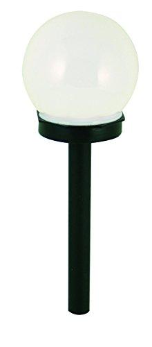 Velamp SPK10 Globe Borne lumineuse solaire de jardin Plastique Blanc