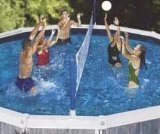 Cross Pool Volly Above ground Vollyball Game by Swimline