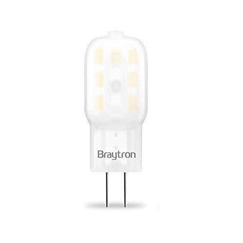 G4 | LED Leuchtmittel | 2 Watt | 12V | 160 Lumen | Stiftsockel | Stecklampe | Lampe | Birne | warmweiß | 10 Stück 160 Lumen Led