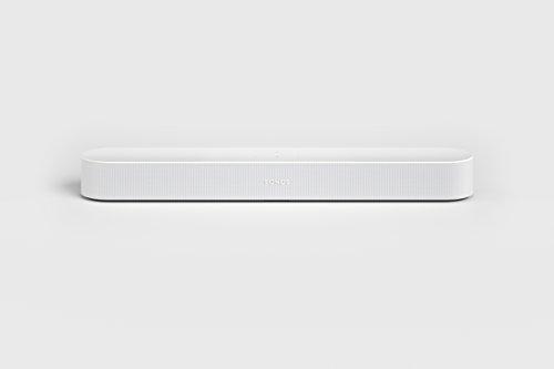 213IQfCoF7L [Bon Plan Amazon] Sonos Beam - La Barre de Son TV compacte et intelligente avec le service vocal Amazon Alexa intégré. Home Cinéma multiroom sans Fil et musique en Streaming dans toutes les pièces - Blanc