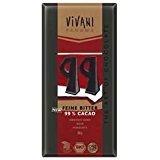 Vivani Feine Bitter 99%, 80 g