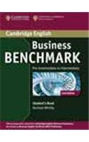 Business Benchmark Pre-intermediate to Intermediate Students Book with Audio CD South Asian Edition