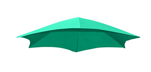 Vivere DRMUF-TT Tissu Parasol, Turquoise