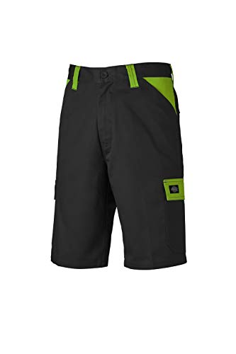 Dickies Workwear Herren Shorts Short Everyday Mehrfarbig Black/Lime DE 52 (UK 36) (Wolf Beine)