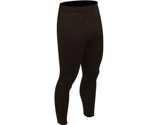 Avento-Pantaloni termici da uomo nero