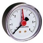 Wasserdruckminderer 1/2'', 1-6 bar mit Filter inklusive Manometer für Wasser 1/4'' 0-10 bar Abgang waagrecht