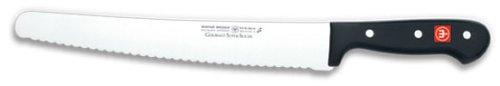 WÜSTHOF Super Slicer mit 26 cm Klinge, Gourmet (4519), rostfrei, ergonomischer Griff, hochwertiges Küchenmesser mit Wellenschliff Super Slicer