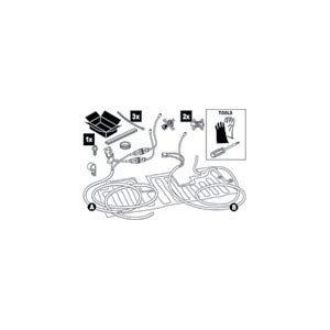 Daikin Kondensatwanne-Begleitheizung Außengeräte 4-8 kW EKDPH008C -
