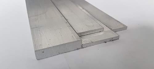 Aluminium Flach - Alu Flachprofil - AlMgSi 0,5 EN AW 6060 - Breiten 20-80 mm (40x8-1000mm)