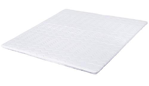 Visco-Topper 140 x 200 für Boxspringbett oder als viscoelastische Matratzenauflage für unbequeme Betten. Der Memory-Schaum passt sich Ihrem Körper an. Made in Germany und vielfach geprüfte Qualität -