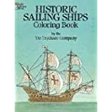 Historic Sailing Ships Coloring Book (Dover History Coloring Book)