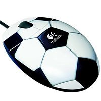Logitech Football Mouse Maus