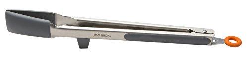"Joe Wicks Food Prep Gadgets - Elevated 12"" Lock and Serve Tongs"