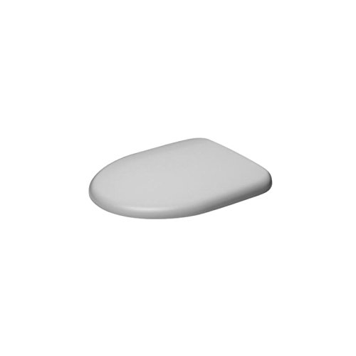Duravit 0069690000, Sedile copri-WC Architec, con sistema SoftClose, cerniere in acciaio Inox, Bianco (Cerniera Sistema)