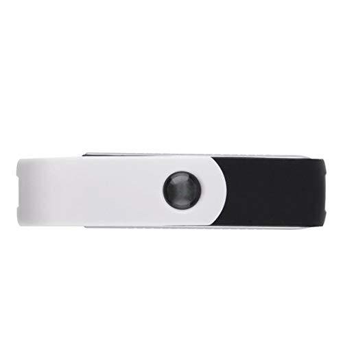 Giratorio USB saludable Ionizador purificador de aire iónico práctico fresco para el ordenador portátil...