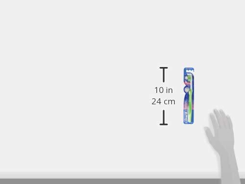Oral-B 3D White Zahnbürste, 35 mittel, 4er Pack (4 x 1 Stück)