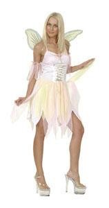 Rosa Womens Kostüm Fee - Boland 87317 - Kostüm Lady Fairy, Einheitsgröße 36-42