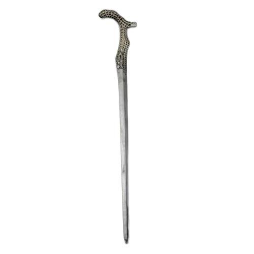nihiug Devil May Cry 5 Nero Arm Dämonenjäger Dämonischer Rohrstock Spiel Requisiten Waffen Halloween,Silver-OneSize