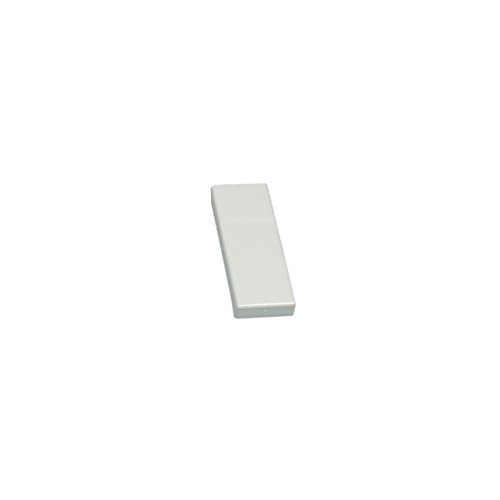 Abdeckkappe Blende Türgriff Platte weiß Türgriffabdeckkappe Abdeckung Kühlschrank Kühlautomat Kühlgerät Original Liebherr 7426362 cbp36 gn18 gsn33 (Platte Türgriff)