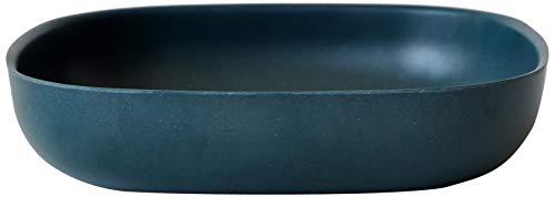 BIOBU par EKOBO BIG.BOWL3 547 Plat pour Salade/pâtes, Bleu