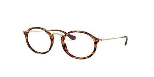 Ray-Ban Unisex-Erwachsene 0RX2547V Brillengestelle, Braun (Brown Havana), 53