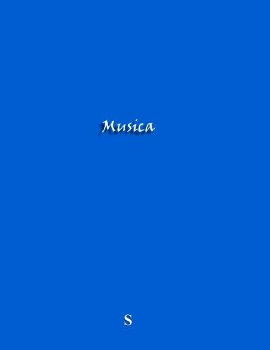 Musica: Quaderno pentagramma, A4, 9 pentagrammi/pagina, 100 pagine