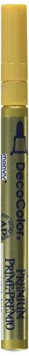Unbekannt DecoColor Premium Fine Tip Paint Marker-Gold (Paint Decocolor Marker)