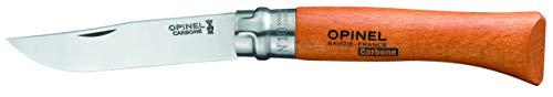 Opinel Couteau à Bague tournante n°10 - Carbone
