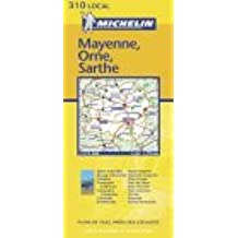 Carte routière : Mayenne - Orne - Sarthe, N° 11310