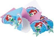 Little Mermaid Ariel Invites (6) by Party Savvy (Ariel Little Mermaid Party)