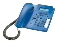 Telekom T-Concept P411 Schnurgebundenes analog Telefon ultramarienblau