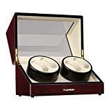 Best Automatic Watch Winders - FLOUREON Watch Winders 4 Automatic Watch Winder Cases Review