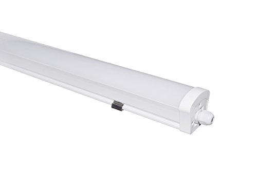 Feuchtraumleuchte LED 120cm Essential Kellerleuchte | Oktaplex lighting | IP65 | 4000K Neutralweiss...