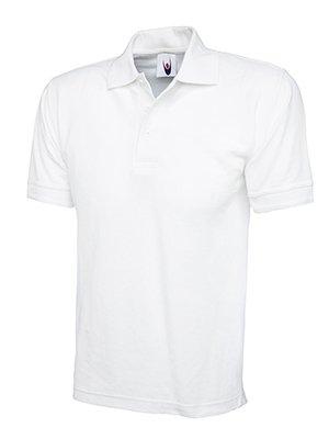 MAKZ Uneek Herren Poloshirt Baumwolle Blanco