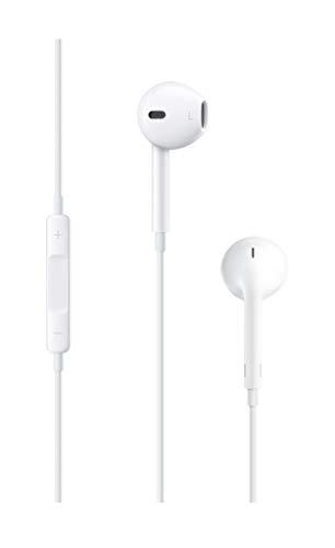 Apple EarPods - Auriculares in-ear (con micrófono, control remoto integrado), blanco