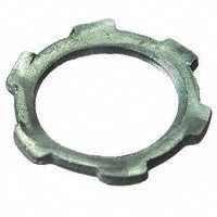 Halex 96191 2 Count 1/2-Inch Steel Conduit Locknut by Halex -