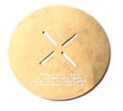 Runde Fonduetopf-Wärmescheibe 15,5 cm