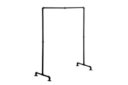 CLP Kleiderständer JERSEY, stabil, Metall, Industrial Design, Höhe ca. 150 cm Breite: 120cm
