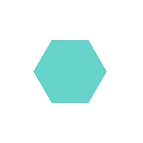 Anti-Lärm Wohnzimmer dekorative Wand-Aufkleber, Filz Farbe Hexagon Vorstand Durable Nicht verformt Hexagon Vorstand 13.5CM Filz * 12cm * 7cm Haushaltsprodukte ( Color : #3 )