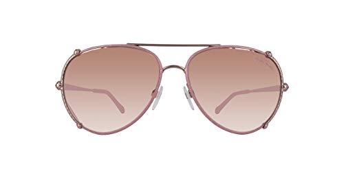 Roberto Cavalli Damen Rc1029-34U-Pink Sonnenbrille, Pink, 58