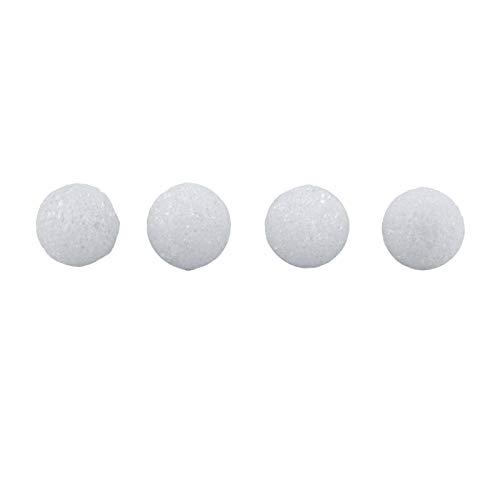 Hygloss 5101 100-Piece Styrofoam Balls, 1-inch, White