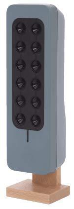 Geräuschloser und diskreter Luftreiniger   Luftionisator für 30m2   Made in France   Stromverbrauch fast Null   Keine zu wechselnden Filter   Ideal für Zimmer