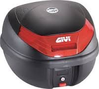 GIVI E103 Monolock Baúl Respaldo del Copiloto para E30/E300/E350, Color Negro