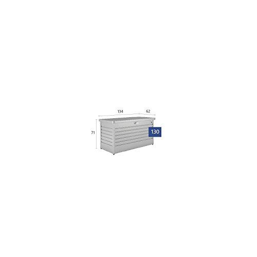 Biohort FreizeitBox, regenwasserdicht, 460L, 134x62x71cm - 3