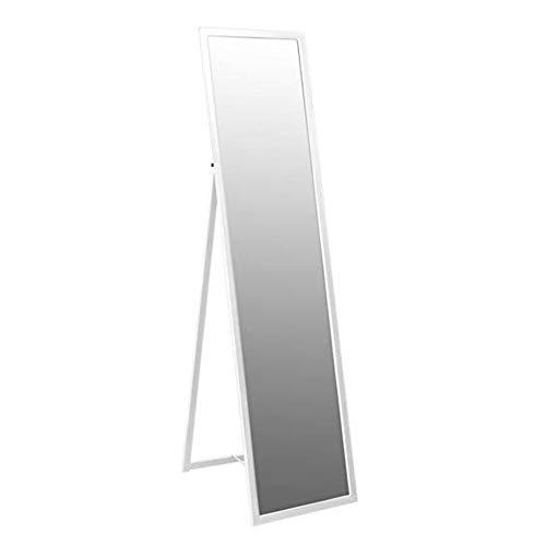 Moderner Schminkspiegel (Bodenspiegel Schminkspiegel Aluminium Dünnkörper Bodenspiegel Einfacher moderner Einbauspiegel Wandbehangspiegel 6 x 40 x 148 cm Schmuckschränke 0514)