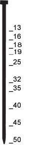 Preisvergleich Produktbild Prebena J19CNKHA Stauchkopfnägel Druckluft Nägel 19 mm 10000 St