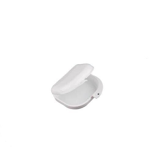 Ecloud Shop® 10 pieces 2 Dental Box Zahnprothesenbecher Behälter Zahnprothese kieferorthopädisch